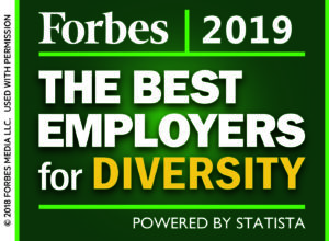 Cushman & Wakefield named by Forbes as one of America's Best Large Employers of 2019.